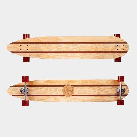 Longboards artesanales raijin by Long Days