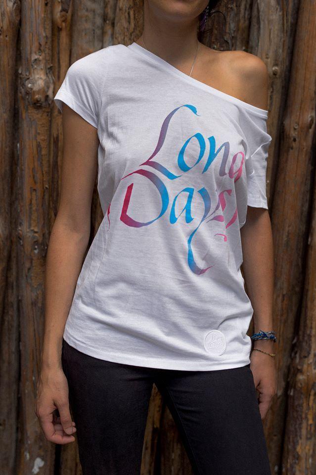 Camiseta mujer White-Rainbow-Woman