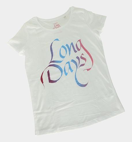 Camiseta de chica-white-rainbow