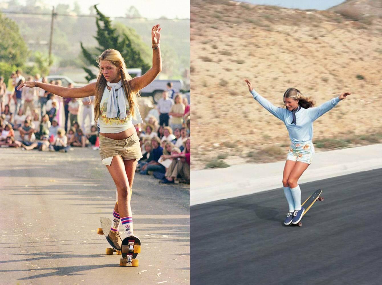 sobre-ruedas-long-days-longboard-dancing-ellen-oneal-skateboarding-freestyle-sidewalks-dogtown-surf-oldschool-skateboard-girl-01-hugh-holland