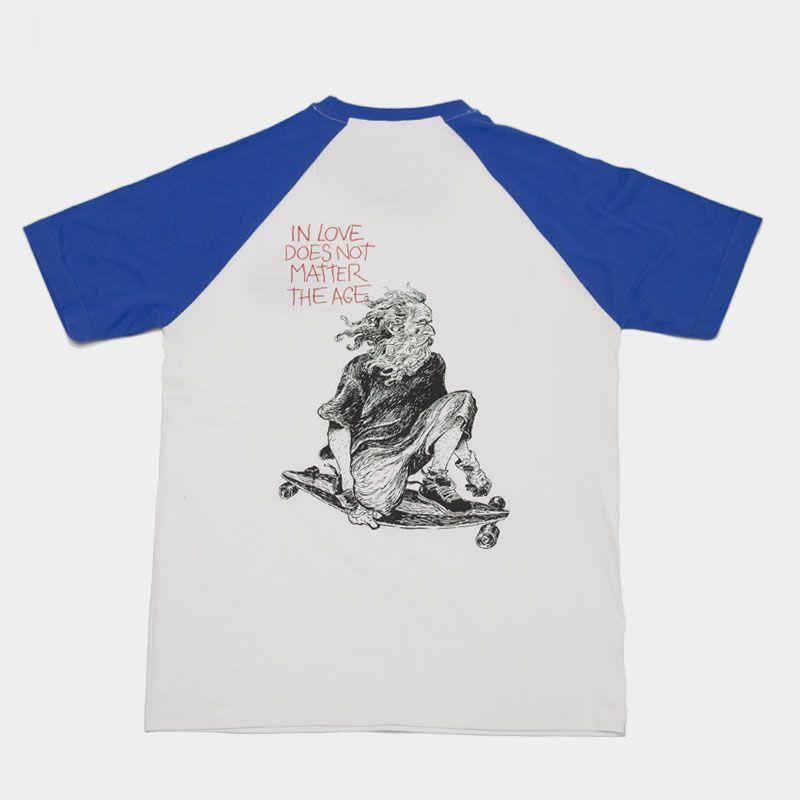 Camiseta unisex  Old Boy by Lázaro/Long Days/Longboard