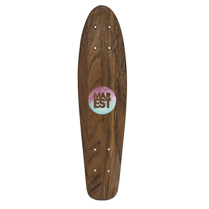 Tabla Mini Skate Mahon Diseñada por Antonyo Marest/Long Days/Longboard