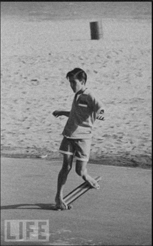 Patinar descalzo/Long Days/Longboard