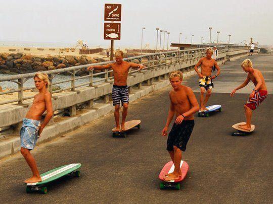 Surf en la calle/Long Days/Longboard
