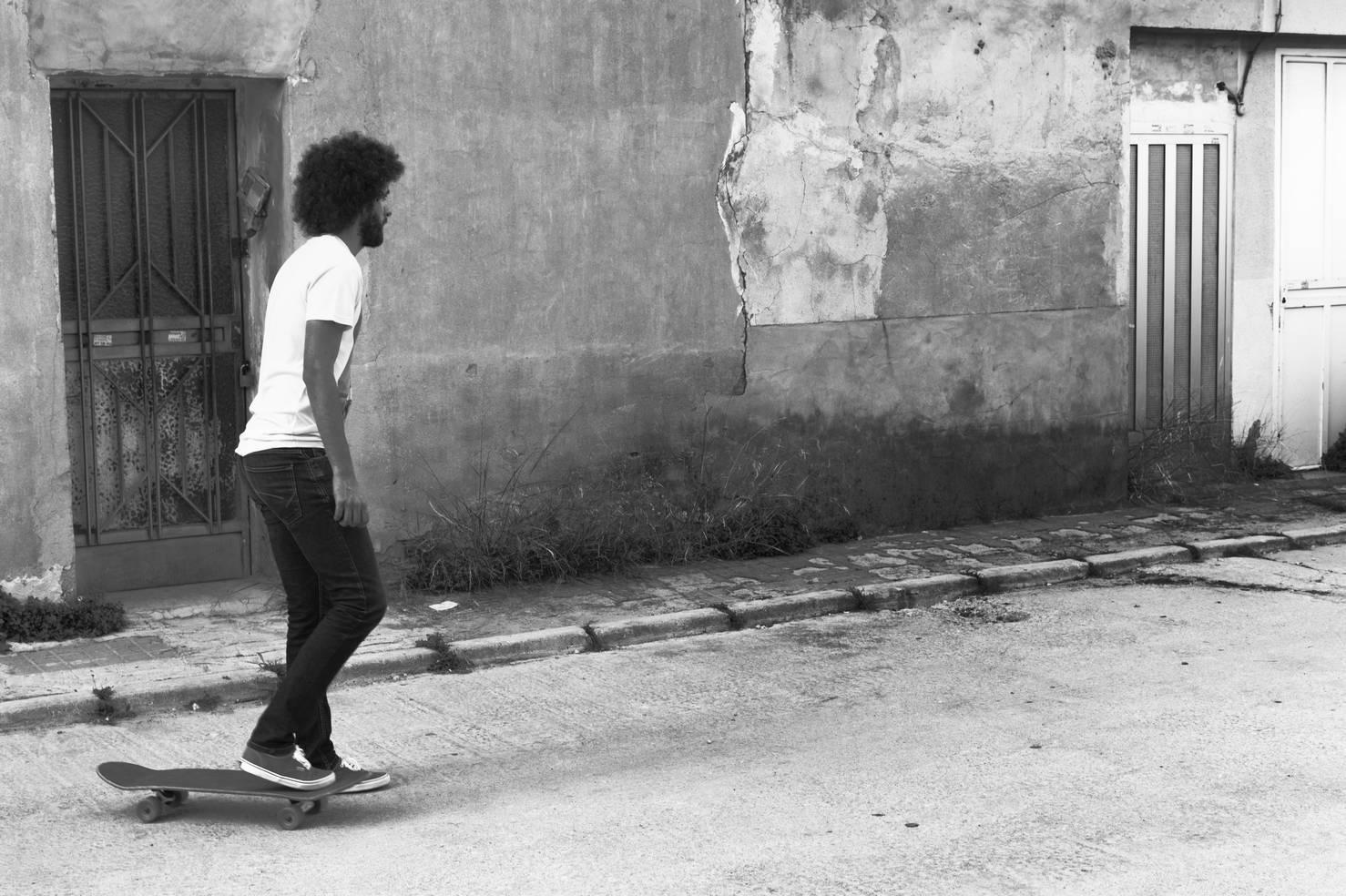 Rider/Long Days/Longboard
