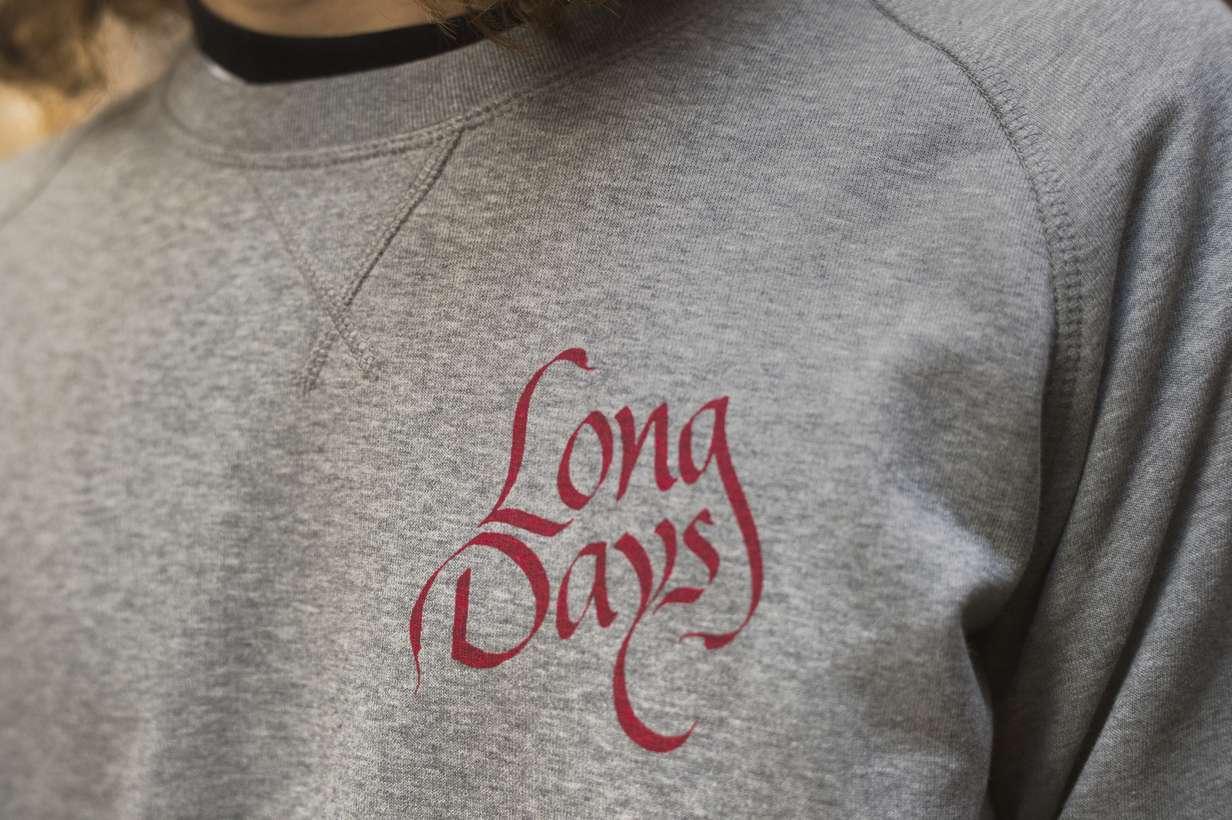 Sudadera Old Boy Trasera/Long Days/Longboard