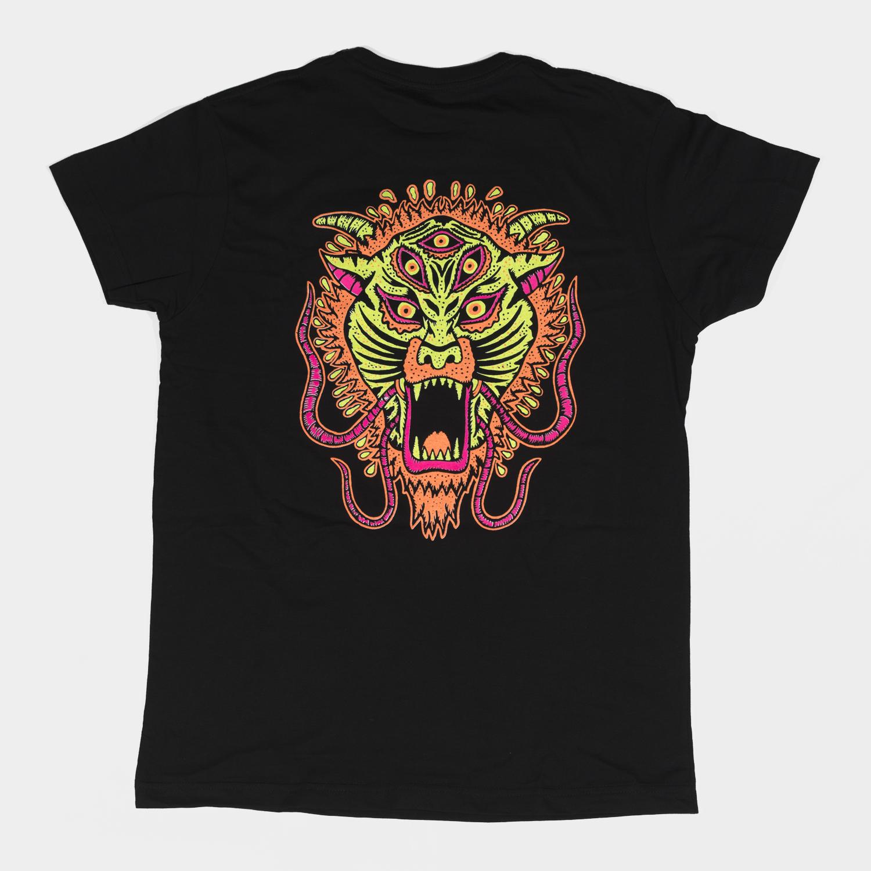 Camiseta Diamante Tigre Trasera